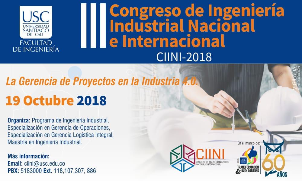 III Congreso de <span> Ingeniería Industrial </span>