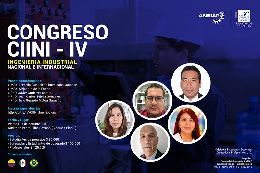 IV Congreso de <span> Ingeniería Industrial </span>