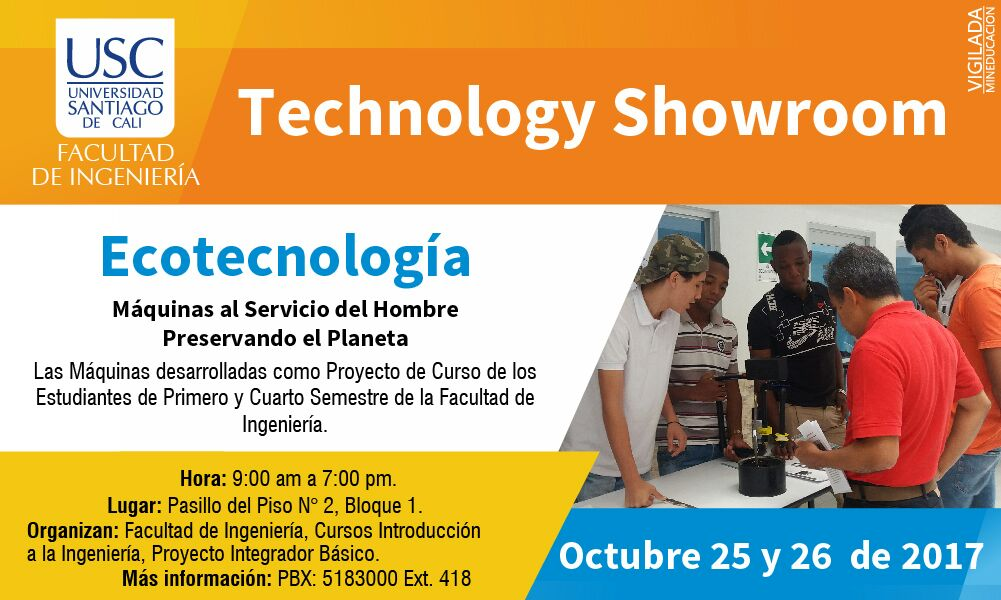 Technology Showroom <span>ECOTECNOLOGÍA</span>